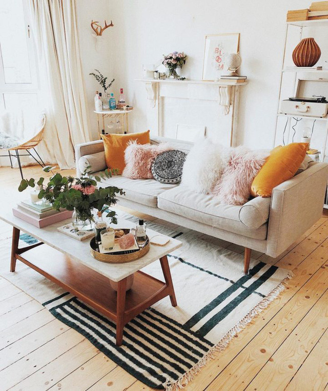 10 căn phòng khách có cách bài trí khiến người khác phải học tập  - Ảnh 11.