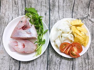 Canh cá điêu hồng nấu măng chua - Ảnh 2.