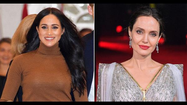 Meghan Markle lại bị bóc phốt làm lố khi nhờ Angelina Jolie làm cố vấn ở Hollywood - Ảnh 1.
