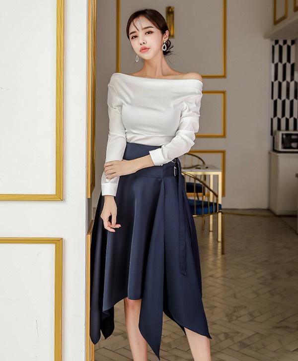 Chọn đúng kiểu chân váy giấu đùi cột đình hoàn hảo, nàng công sở tự tin khoe vóc dáng - Ảnh 10.