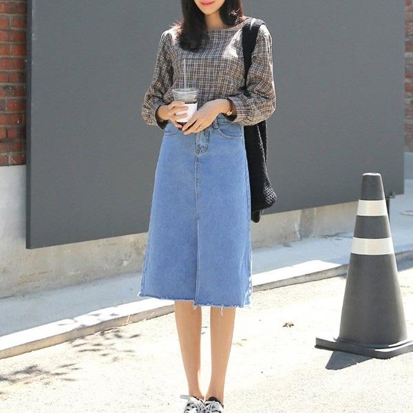 Chọn đúng kiểu chân váy giấu đùi cột đình hoàn hảo, nàng công sở tự tin khoe vóc dáng - Ảnh 3.