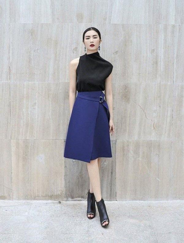 Chọn đúng kiểu chân váy giấu đùi cột đình hoàn hảo, nàng công sở tự tin khoe vóc dáng - Ảnh 4.