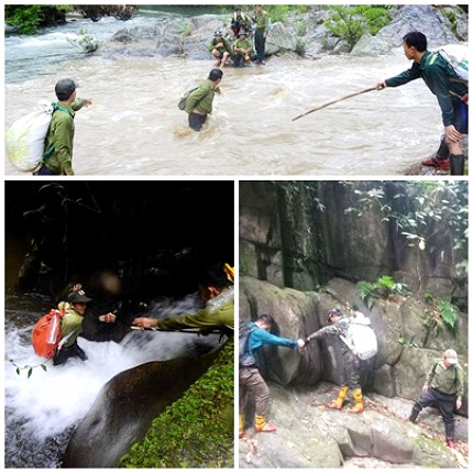 Đội đặc nhiệm núi rừng duy nhất trên cả nước ở Nghệ An - Ảnh 3.