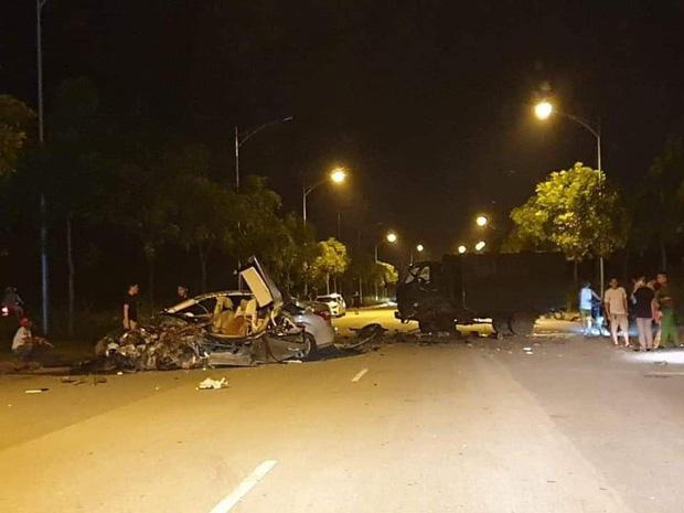 Danh tính 2 tài xế trong vụ 2 xe biển xanh tông nhau kinh hoàng tại Lào Cai - Ảnh 1.