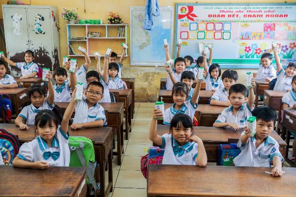 """Nhân rộng niềm vui mang tên """"sữa học đường - Ảnh 1."""