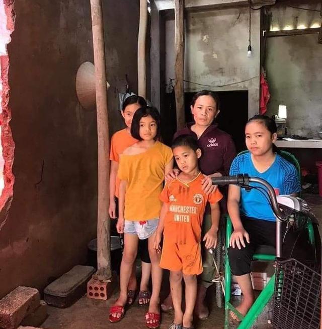 Chồng tai nạn nguy kịch, vợ bệnh tật chăm 4 đứa con nhỏ - Ảnh 2.