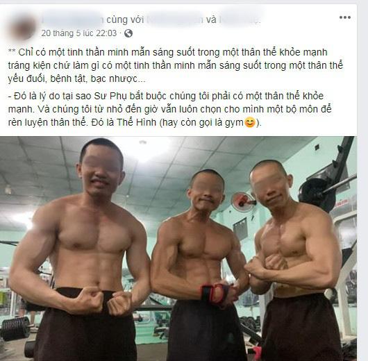 Xôn xao hình ảnh các sư thầy Tịnh Thất Bồng Lai đi resort tránh nắng, khoe body 6 múi ở hồ bơi sau ồn ào bị điều tra - Ảnh 2.