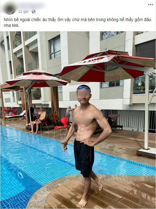 Xôn xao hình ảnh các sư thầy Tịnh Thất Bồng Lai đi resort tránh nắng, khoe body 6 múi ở hồ bơi sau ồn ào bị điều tra - Ảnh 3.