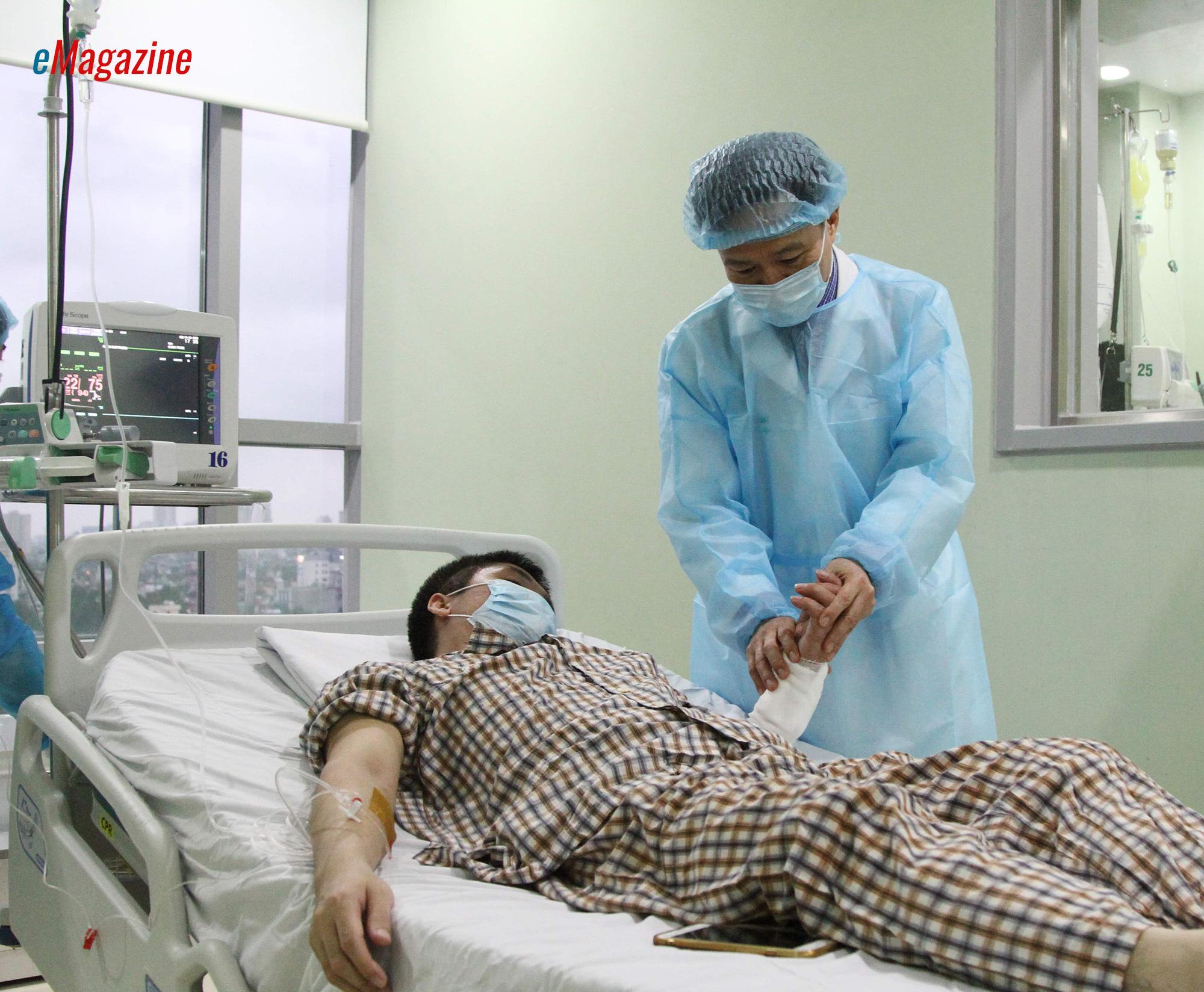 Kỳ tích bác sĩ Việt: Chuyện chưa kể về ca ghép chi đầu tiên trên thế giới từ người cho còn sống - Ảnh 6.