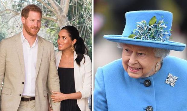 Sau phát ngôn động chạm bà nội của Harry, dân tình đào lại phản ứng của Nữ hoàng khi nghe tin vợ chồng cháu trai rời gia tộc - Ảnh 1.