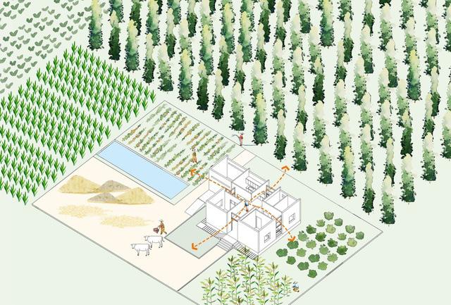 """Nhà vườn rộng 90m2 ở Đồng Nai gây """"sốt"""" vì xây dựng chỉ 500 triệu đồng - Ảnh 5."""