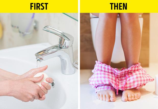 Không rửa tay trước khi... đi vệ sinh, sai lầm nghiêm trọng nhiều người mắc - Ảnh 1.