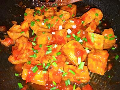 Ngon miệng bữa cơm mùa hè với món đậu phụ sốt cà chua - Ảnh 5.
