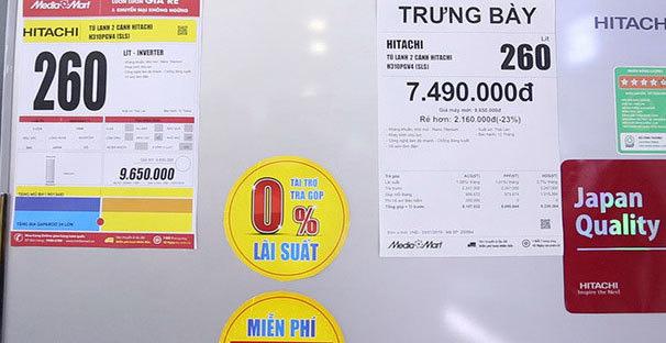 Tủ lạnh hạng sang siêu tiết kiệm điện giảm giá tới 50% - Ảnh 1.