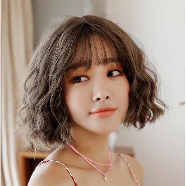 15 kiểu <strong>tóc ngắn xoăn</strong> sóng đẹp nhất 2020 phù hợp với mọi gương mặt - Ảnh 7.