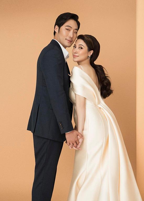 Pha Lê bế bầu chụp ảnh cưới cùng chồng Mỹ gốc Hàn - Ảnh 5.