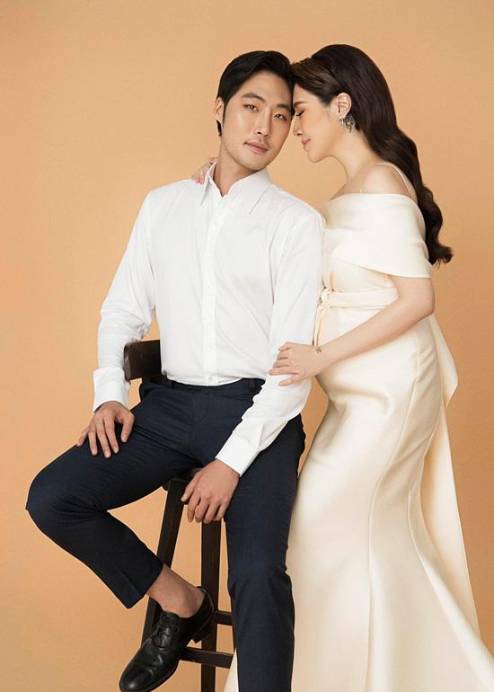 Pha Lê bế bầu chụp ảnh cưới cùng chồng Mỹ gốc Hàn - Ảnh 6.