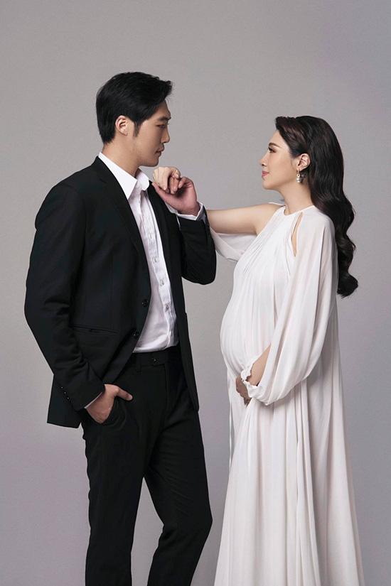 Pha Lê bế bầu chụp ảnh cưới cùng chồng Mỹ gốc Hàn - Ảnh 8.
