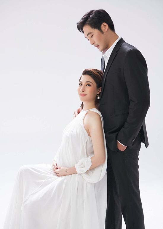 Pha Lê bế bầu chụp ảnh cưới cùng chồng Mỹ gốc Hàn - Ảnh 9.