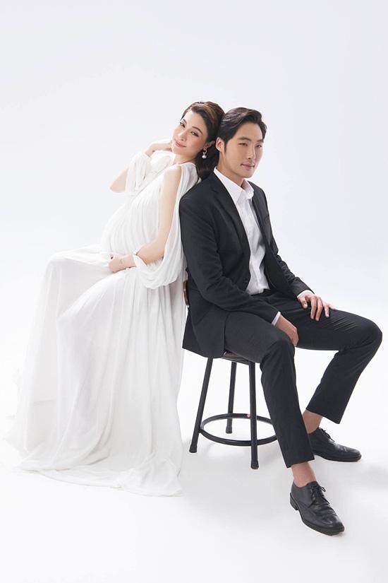 Pha Lê bế bầu chụp ảnh cưới cùng chồng Mỹ gốc Hàn - Ảnh 10.