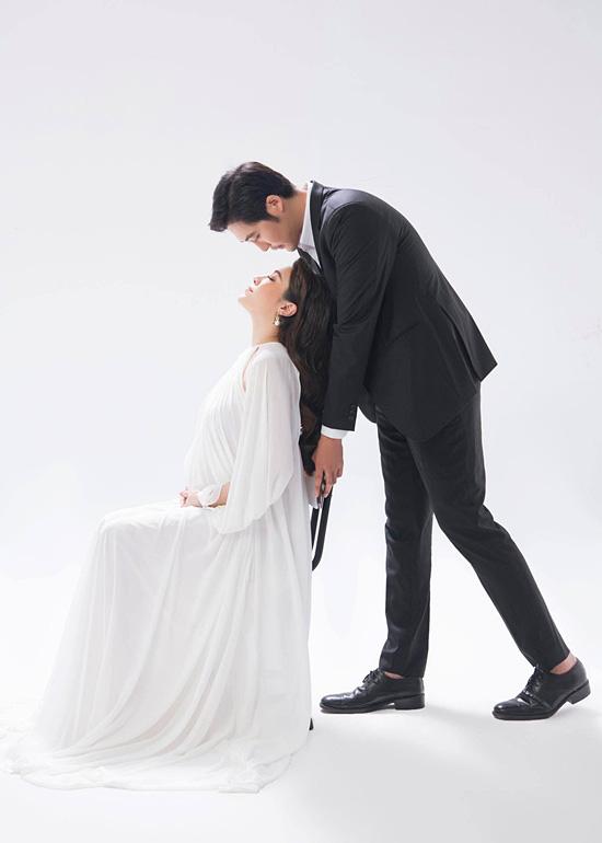 Pha Lê bế bầu chụp ảnh cưới cùng chồng Mỹ gốc Hàn - Ảnh 11.