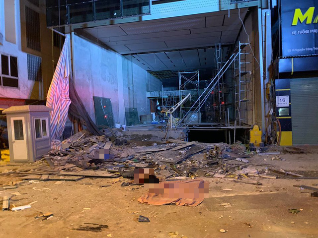 Nạn nhân cuối cùng trong vụ tai nạn lao động xảy ra giữa đêm ở Hà Nội đã tử vong - Ảnh 2.