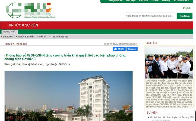 Sau Thương Mại, hàng loạt trường đại học tại Hà Nội cho học sinh nghỉ học, chuyển sang học online tránh COVID-19 - Ảnh 2.