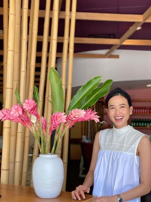 Dương Mỹ Linh đón sinh nhật cùng bạn trai - Ảnh 2.