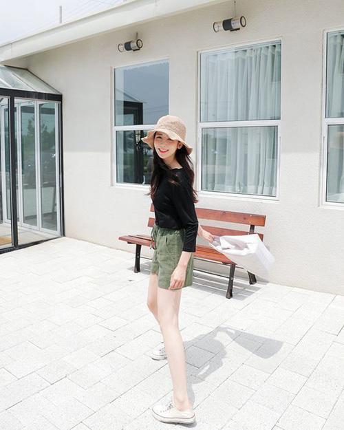 Tôn dáng bằng quần short mùa hè - Ảnh 4.