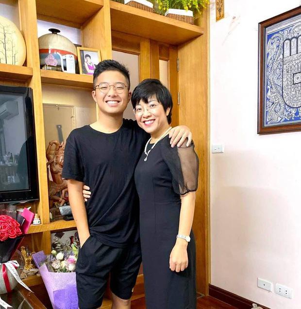 Con trai Công Lý và các quý tử  điển trai, cao nổi bật của nghệ sĩ Việt - Ảnh 1.