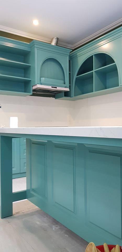 Những căn bếp với không gian xanh mướt, tuyệt đẹp, đảm bảo chị em vừa nhìn chỉ muốn lao vào nấu nướng ngay - Ảnh 3.
