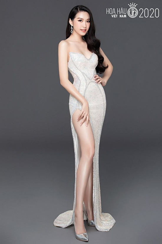 Nữ sinh Luật gây chú ý khi thi Hoa hậu VN 2020 - Ảnh 4.