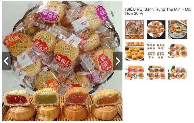 Nhan nhản bánh trung thu giá siêu rẻ, không rõ nguồn gốc trên chợ mạng - Ảnh 3.