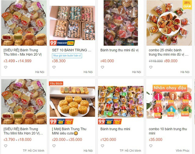 Nhan nhản bánh trung thu giá siêu rẻ, không rõ nguồn gốc trên chợ mạng - Ảnh 4.