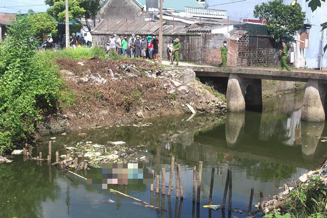 Hải Dương: Phát hiện thi thể nữ giới tử vong dưới kênh nước gần trạm bơm  - Ảnh 1.