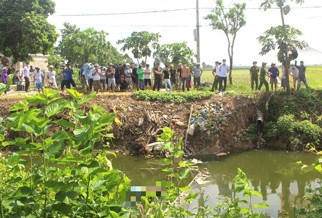 Hải Dương: Phát hiện thi thể nữ giới tử vong dưới kênh nước gần trạm bơm  - Ảnh 2.