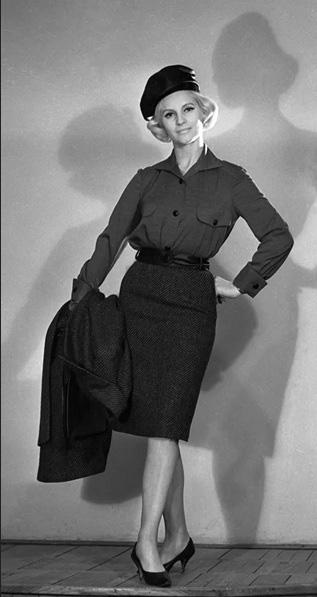 Thời trang ngắm hoài không chán của phái đẹp Liên Xô - Ảnh 4.