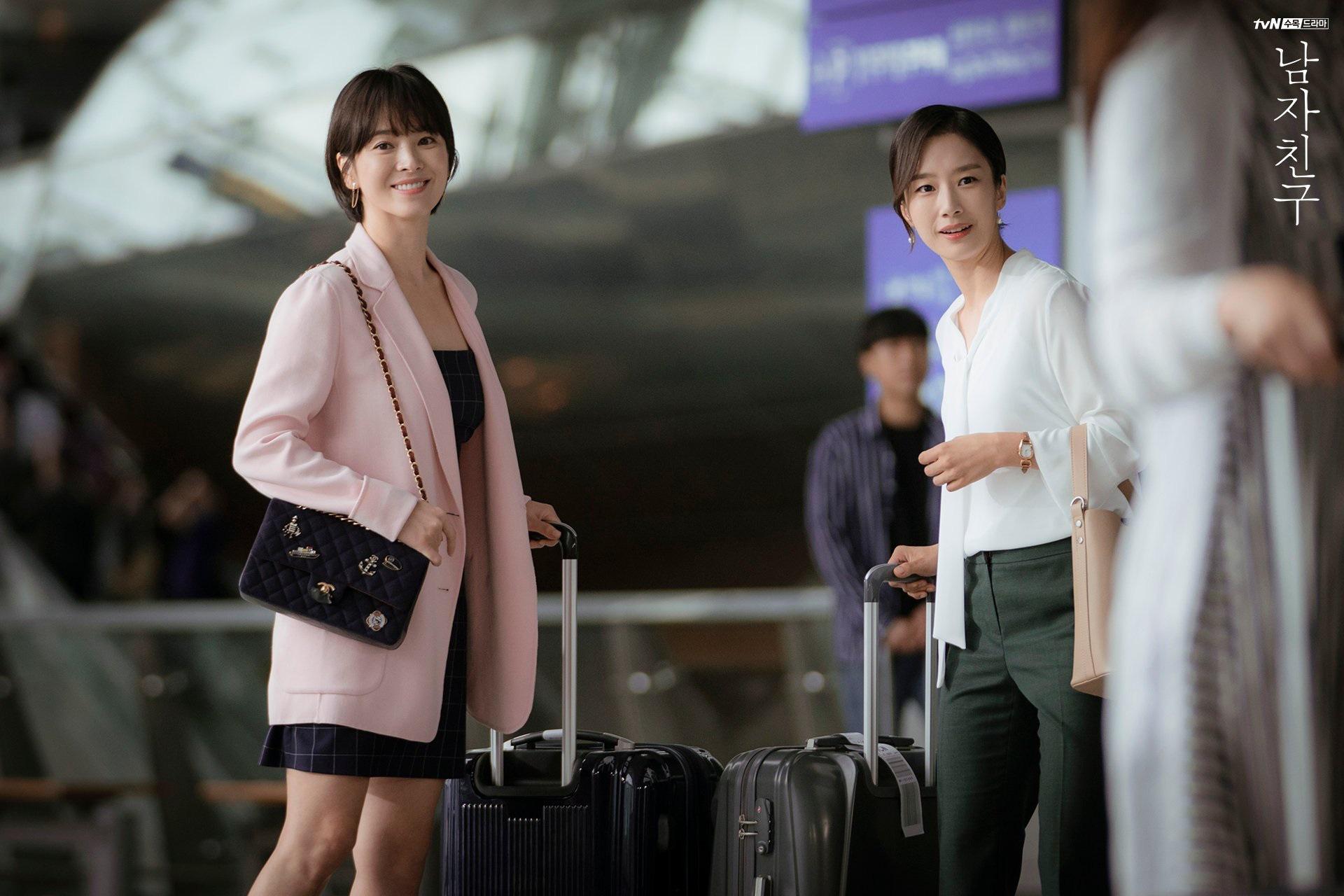 3 kiểu blazer sao Hàn hay diện trong phim, đã đẹp tinh tế còn không bao giờ lỗi mốt, nàng công sở rất nên học theo - BAAO.VN