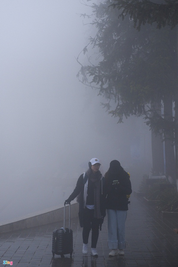 گردشگران به Sa Pa می روند ، کوه Fansipan پر از سال نو است - عکس 4.