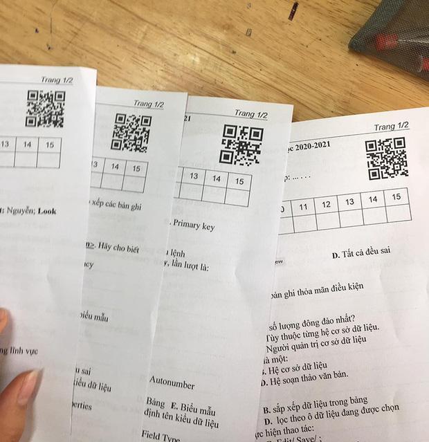Thầy cô thời 4.0 phải đánh mã đề như thế này, học trò xem xong chỉ biết khóc - Ảnh 2.