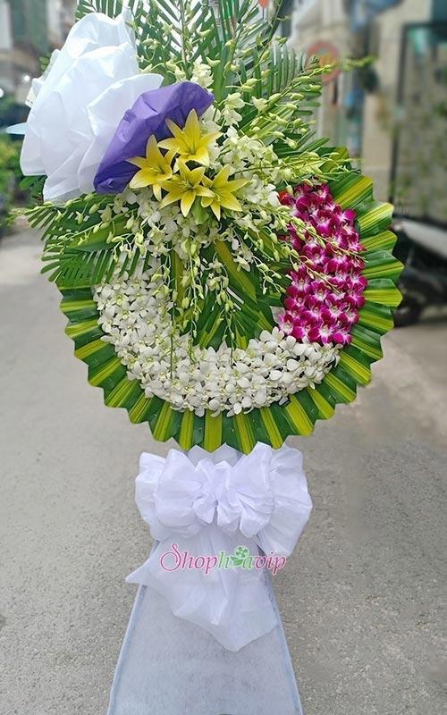 Shop Hoa VIP – Nhận đặt và giao vòng hoa tang lễ tại TPHCM nhanh chóng - Ảnh 1.