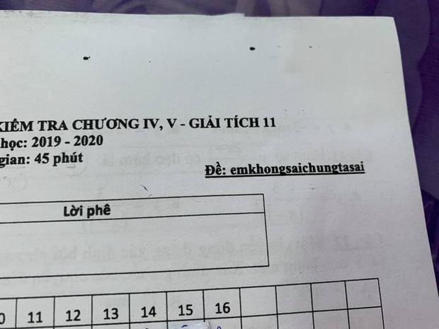 Thầy cô thời 4.0 phải đánh mã đề như thế này, học trò xem xong chỉ biết khóc - Ảnh 3.