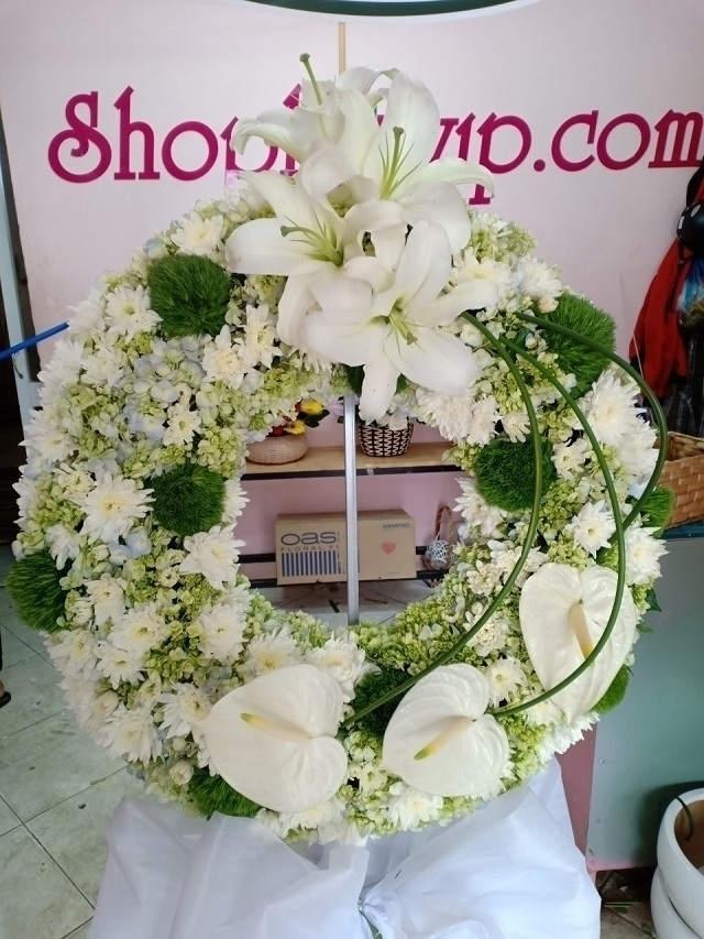 Shop Hoa VIP – Nhận đặt và giao vòng hoa tang lễ tại TPHCM nhanh chóng - Ảnh 4.