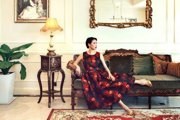 Choáng với vẻ xa hoa, hào nhoáng trong căn hộ nhà Hoa hậu Hà Kiều Anh - Ảnh 3.