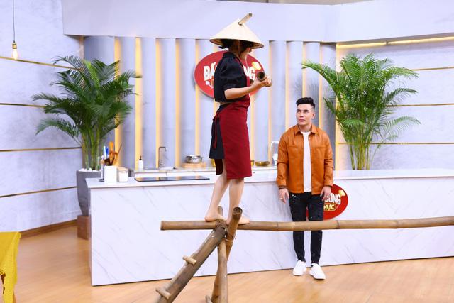 Lê Dương Bảo Lâm phản ứng với chiến thắng gây tranh cãi của Cẩm Hò tại Đấu trường ẩm thực - Ảnh 1.