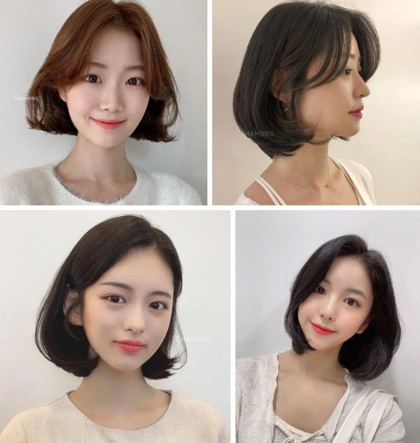 4 kiểu tóc ngắn đang làm mưa làm gió tại các salon Hàn Quốc, diện lên là trẻ xinh hơn hẳn - Ảnh 1.