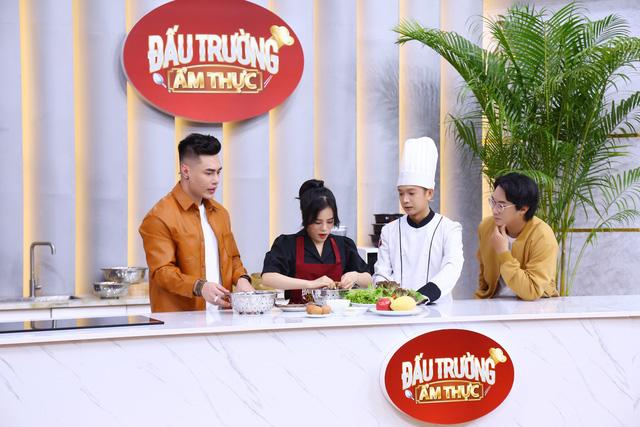 Lê Dương Bảo Lâm phản ứng với chiến thắng gây tranh cãi của Cẩm Hò tại Đấu trường ẩm thực - Ảnh 3.