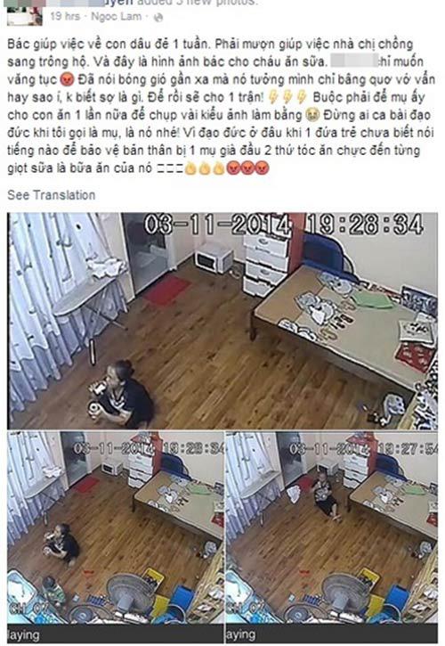 Lắp camera giấu kín, mẹ trẻ sốc nặng phát hiện nữ giúp việc tu ừng ực bình sữa của con rồi nói dối là bé đã uống hết! - Ảnh 3.