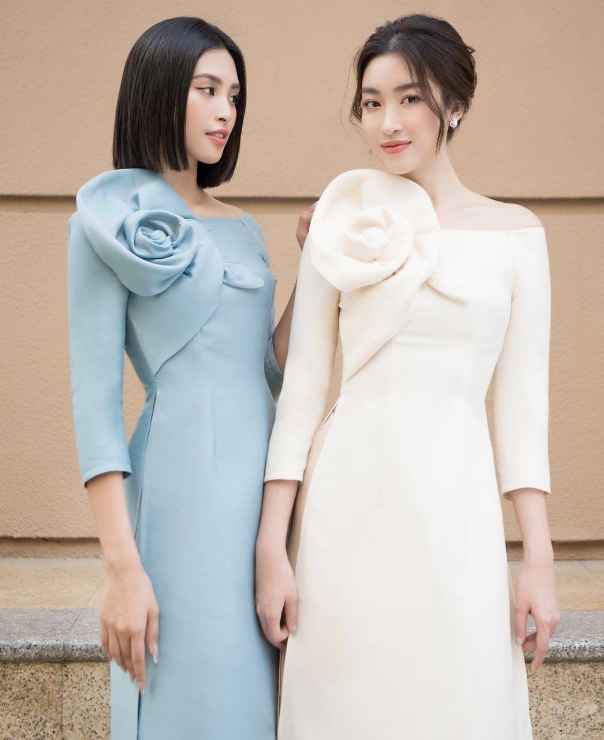 Tiểu Vy thoát mác hoa hậu ngoan hiền với trang phục khoe