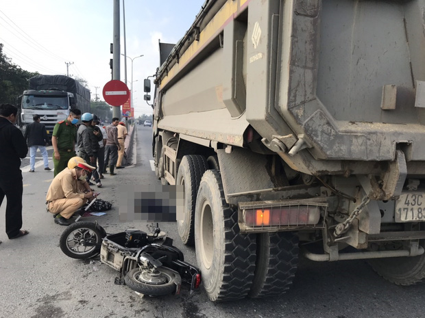 Nữ sinh lớp 9 bị ô tô tải tông chết thảm trên đường đi học thêm - Ảnh 1.
